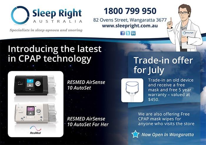 CPAP Wangaratta - Sleep Right Australia