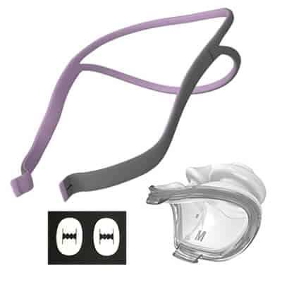Package P10 Headgear Pillow clips he