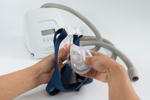 Image of a CPAP Machine by Sleep Right Australia