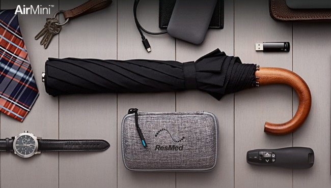 Travelling with ResMed AirMini