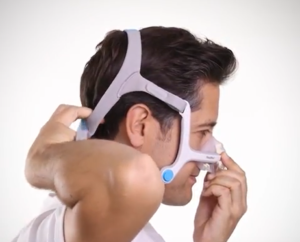 Fitting the Resmed N20 Mask - Strap Placement