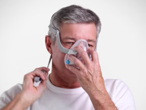 Locate the Magnet on the Strap of Your Resmed F20 CPAP Mask