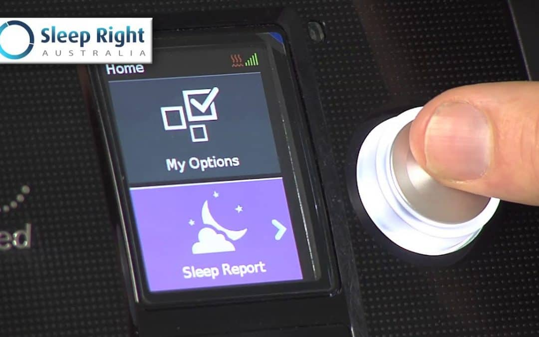 How to use your AirSense 10 Sleep Report