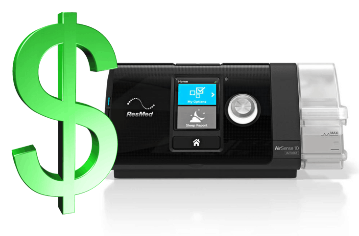 Rebates available to compensate you for the electricity cost to run your CPAP device
